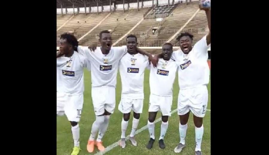 Fin phase de poules de la coupe CAF: le Jaraaf termine leader de son groupe