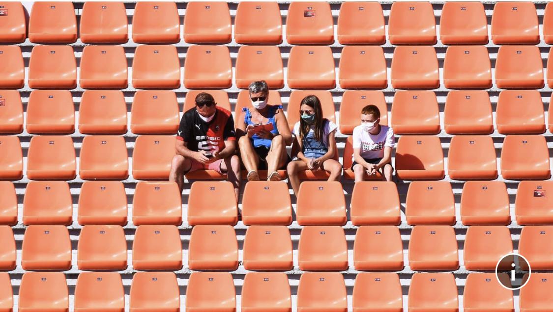 Un retour du public dans les enceintes sportives vers la mi-mai