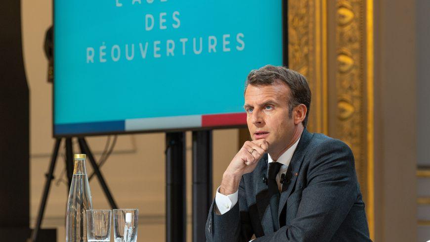 France: Macron annonce l'ouverture de la vaccination à tous les adultes à partir du 15 juin