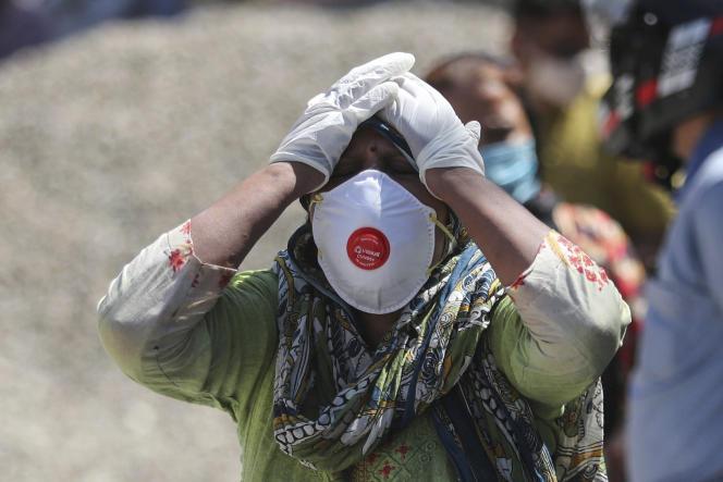 L'Inde bat un nouveau record avec 400 000 nouveaux cas de Covid-19 en 24 heures