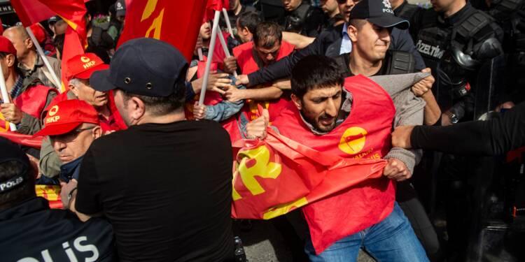 Turquie: la police d'Istanbul arrête des dizaines de manifestants du 1er mai