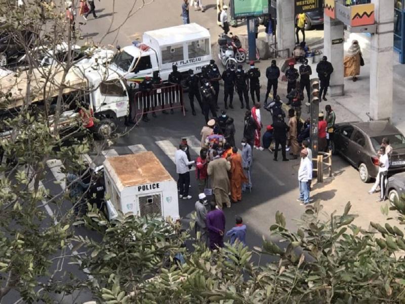 Marche avortée des soldats mutilés de guerre : plusieurs manifestants arrêtés
