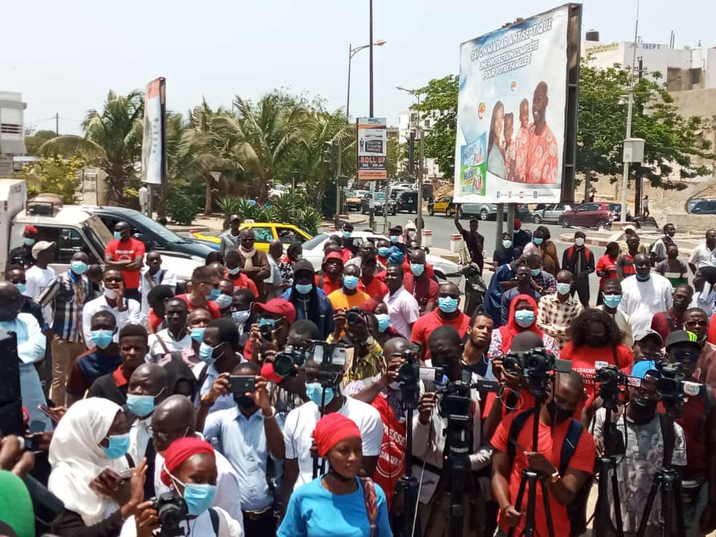 Journée mondiale de la liberté de presse: des journalistes sénégalais dénoncent les violences qu'ils subissent dans l'exercice de leur métier
