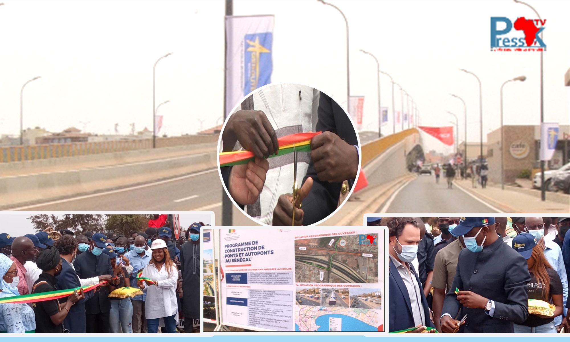 Pikine : Mansour Faye inaugure l'Autopont Lobatt Fall estimé à plus de 9 milliards de F CFA
