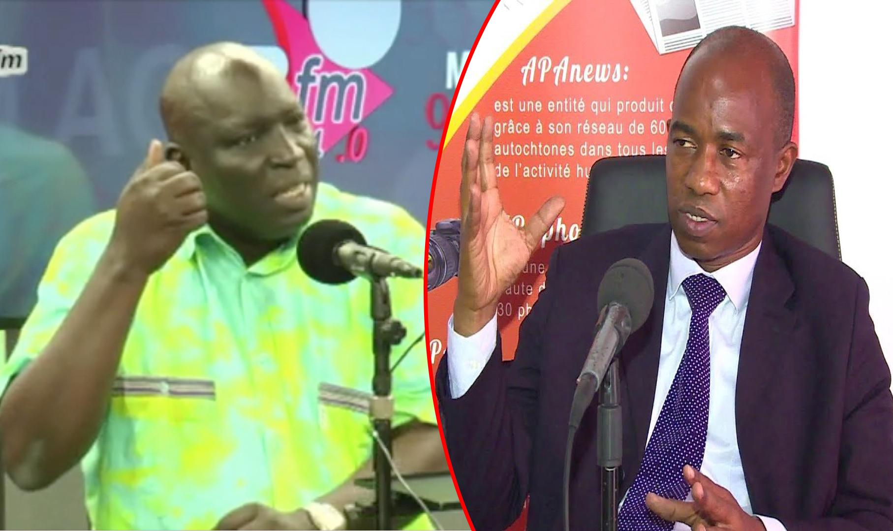 Affaire diffamation: l'acte 1 du procès Souleymane Téliko contre Madiambal Diagne