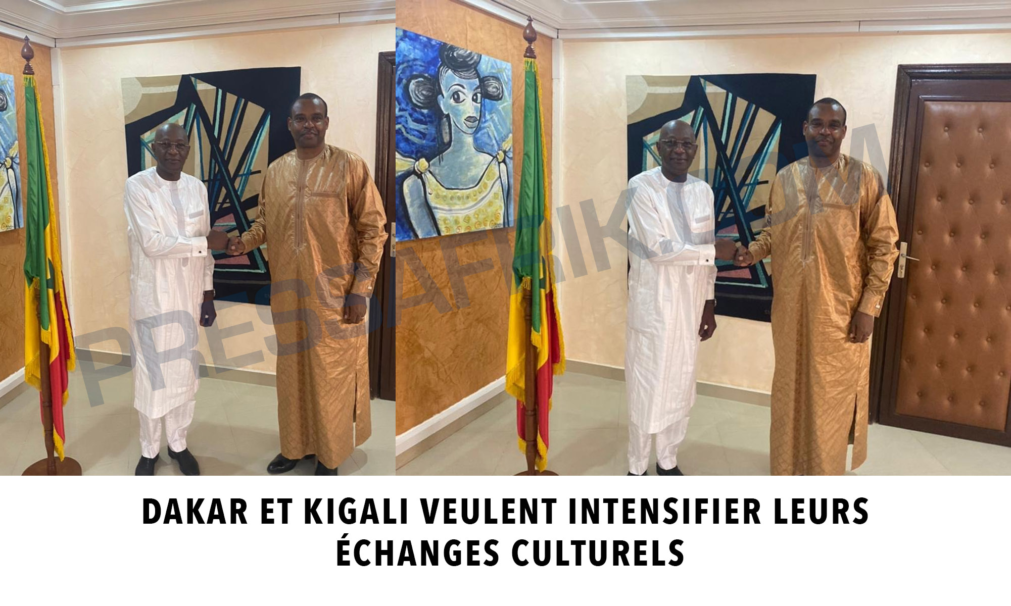 Dakar et Kigali veulent intensifier leurs échanges culturels