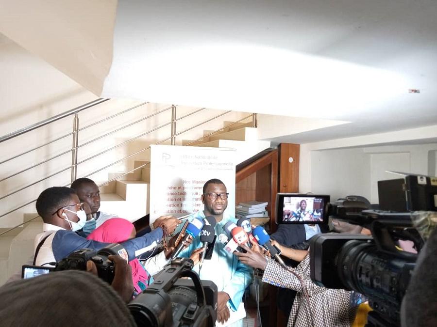 """Dr Soumaré, DG ONFP: """"il n'y a aucune école de formation qui garantit à un apprenant de l'emploi"""""""