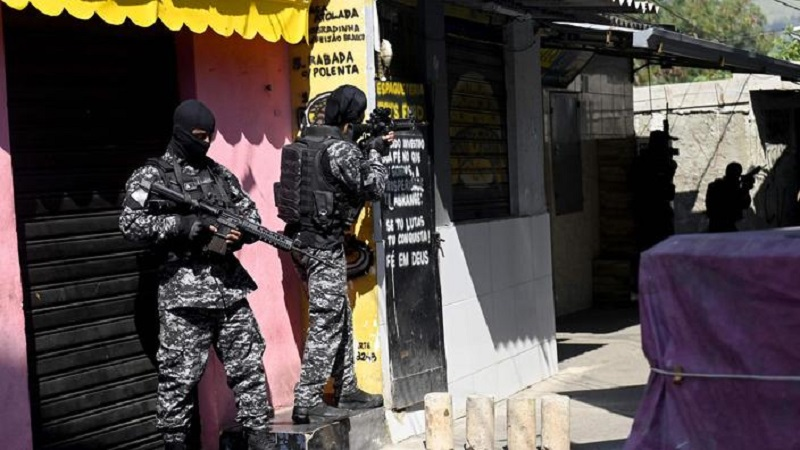 Brésil: au moins 25 morts dans une opération antidrogue dans une favela de Rio