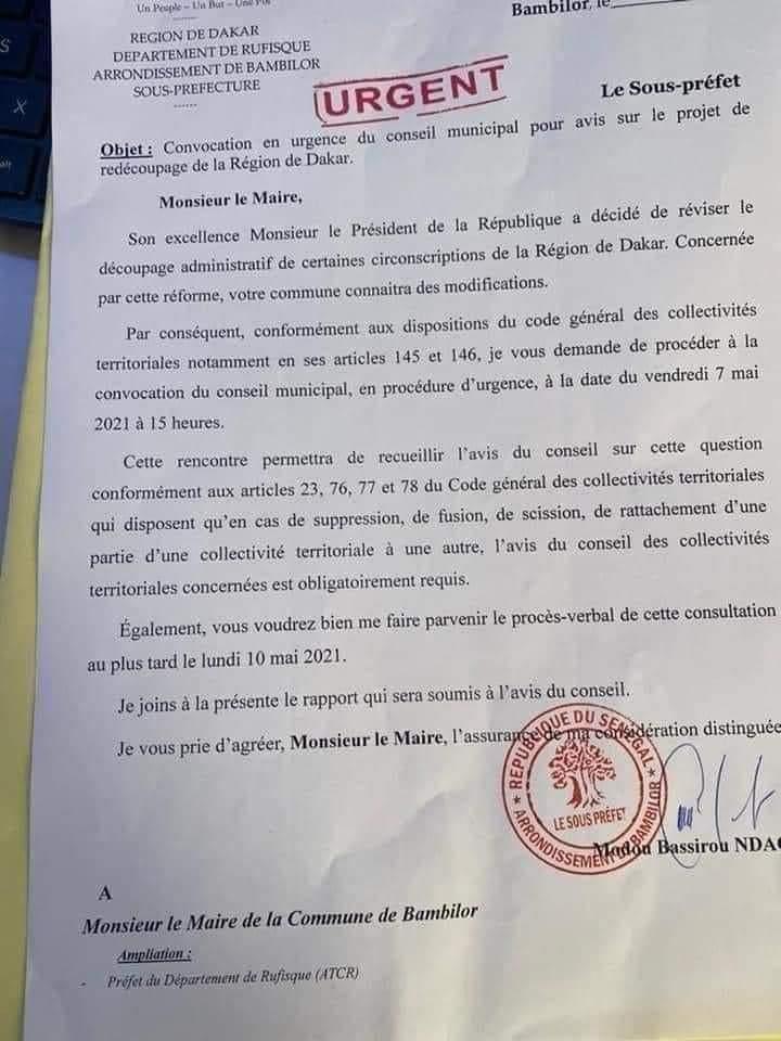 Projet de redécoupage de Dakar : Barthélémy Dias accuse 'des dealers de l'opposition' en complicité avec l'Etat
