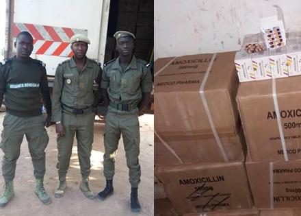 La Douane sénégalaise fait une saisie record de médicaments à Keur Ayib