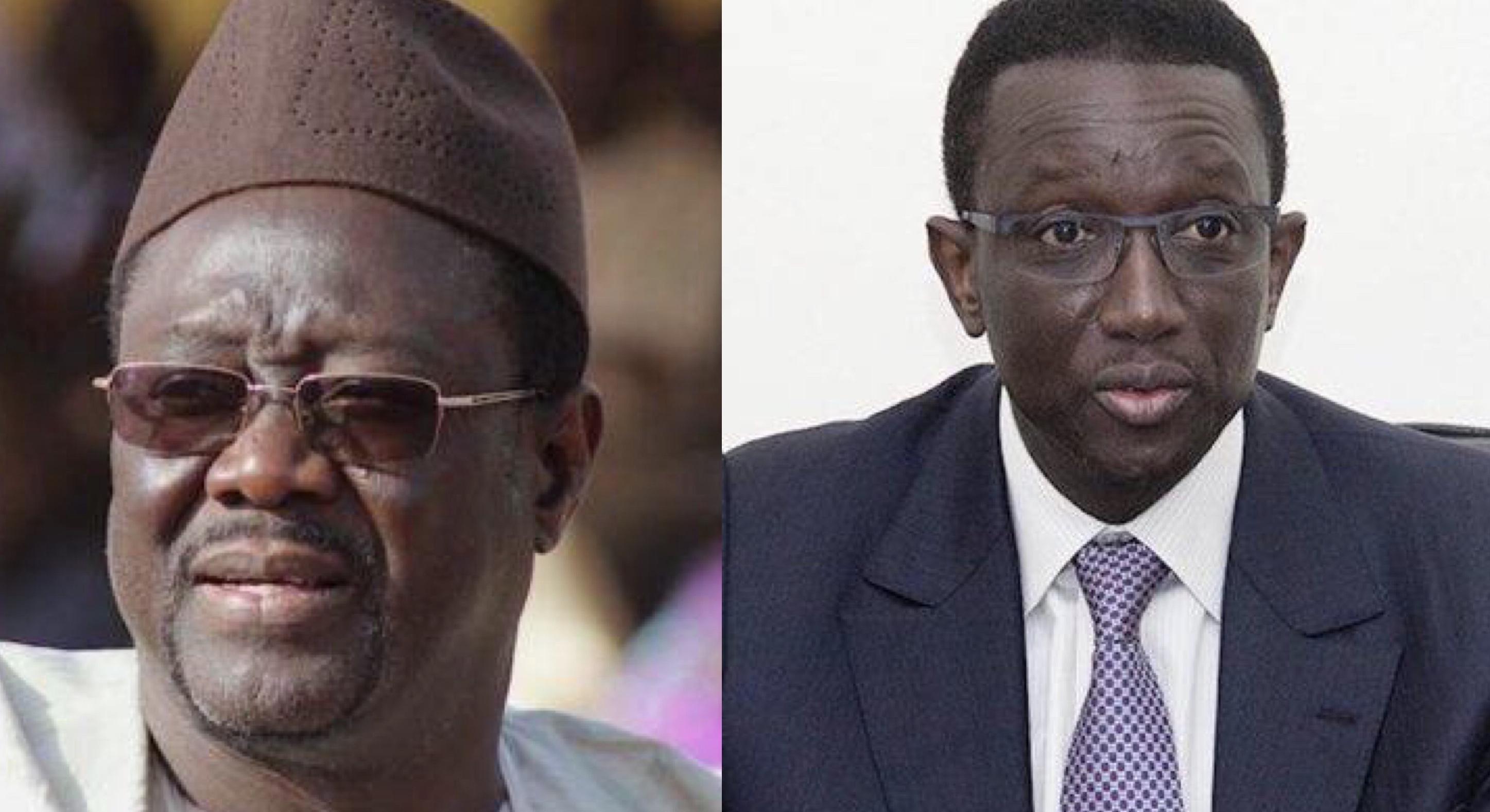 Les anciens ministres Mbaye Ndiaye et Amadou Ba se livrent à une vraie guerre des mots