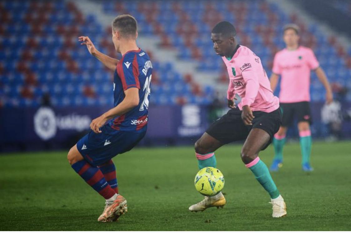 36e journée Liga: le Barça gâche tout contre Levante (3-3)