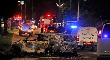 Israël: deux morts à Lod, après des tirs de roquettes depuis Gaza
