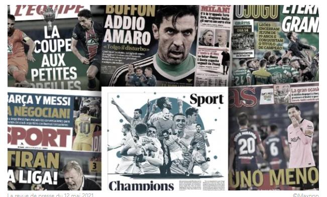 Le Real remercie Neymar pour le dossier Mbappé, la presse anglaise rend hommage au nouveau titre de City