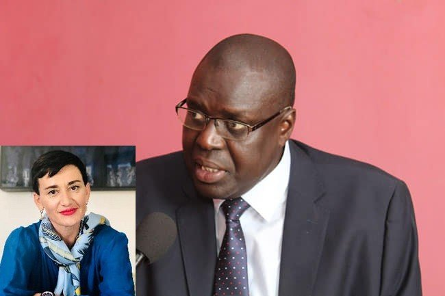 """Boubacar Séye à l'ambassadrice de l'UE: """"ses services m'ont transmis le document que j'ai mis à la disposition de la justice sénégalaise"""""""