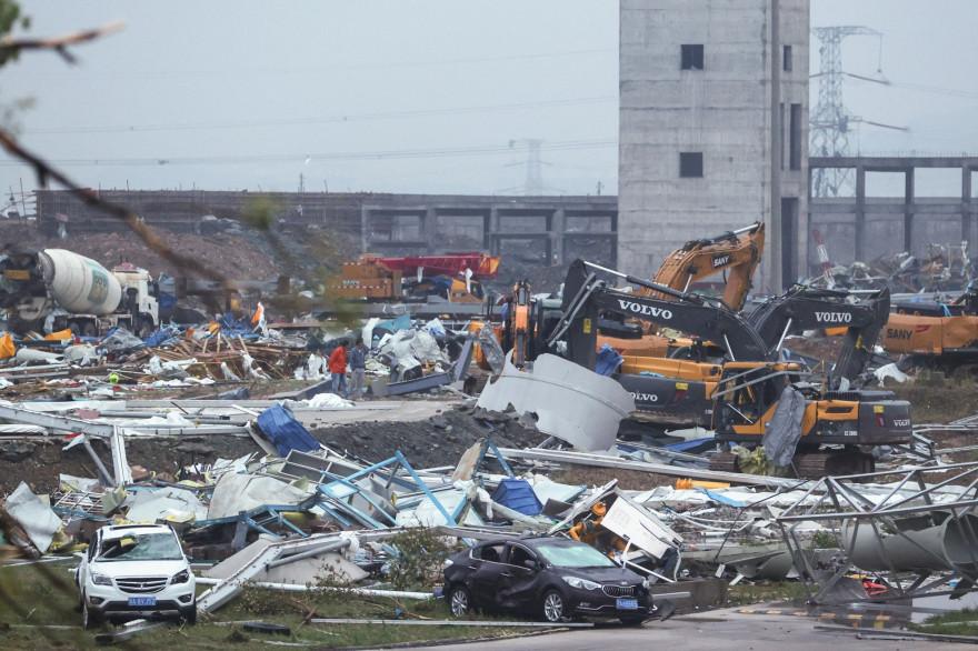 Chine: deux tornades font au moins 12 morts et 400 blessés