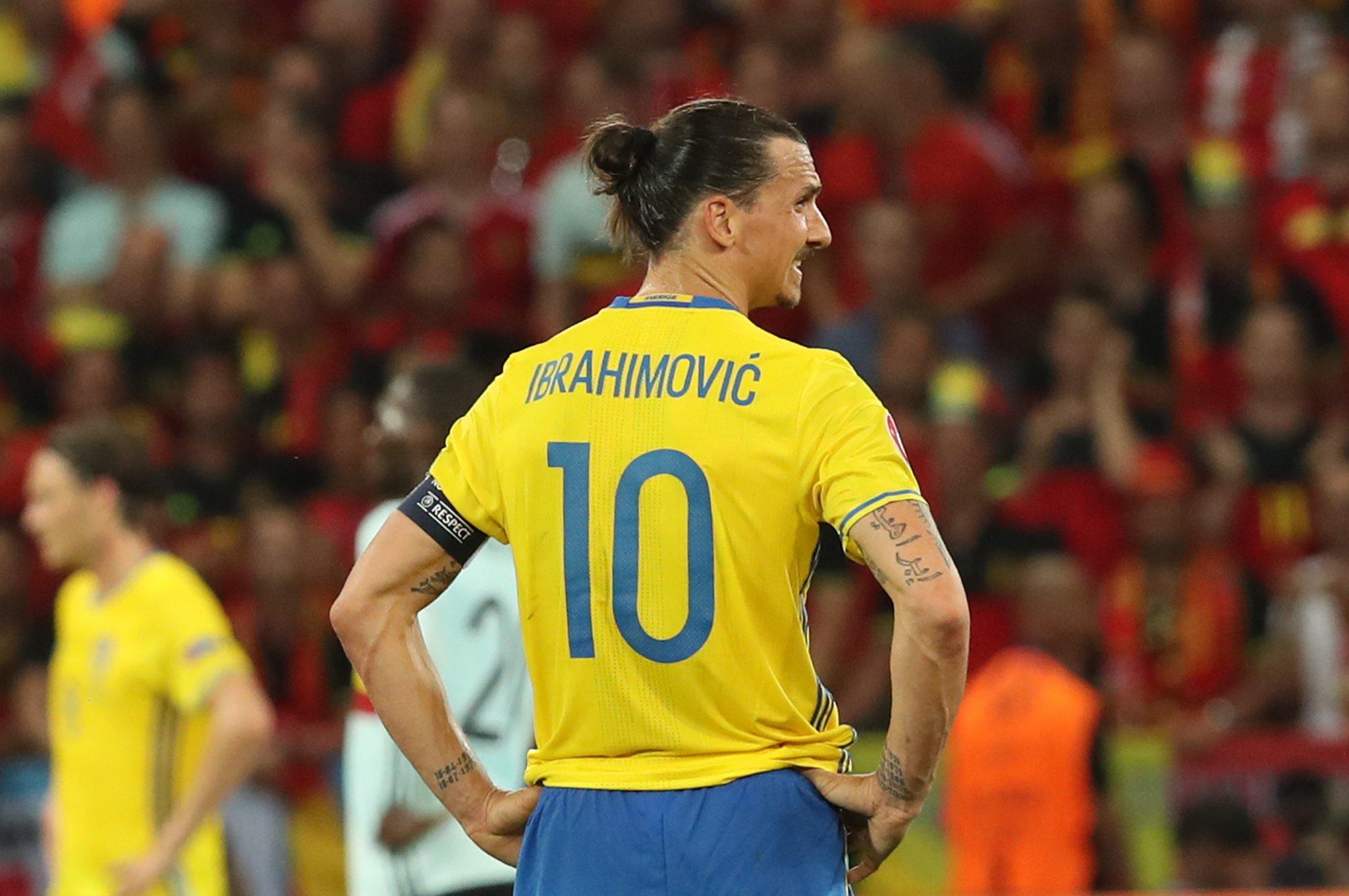 Suède: Zlatan Ibrahimovic forfait pour l'Euro