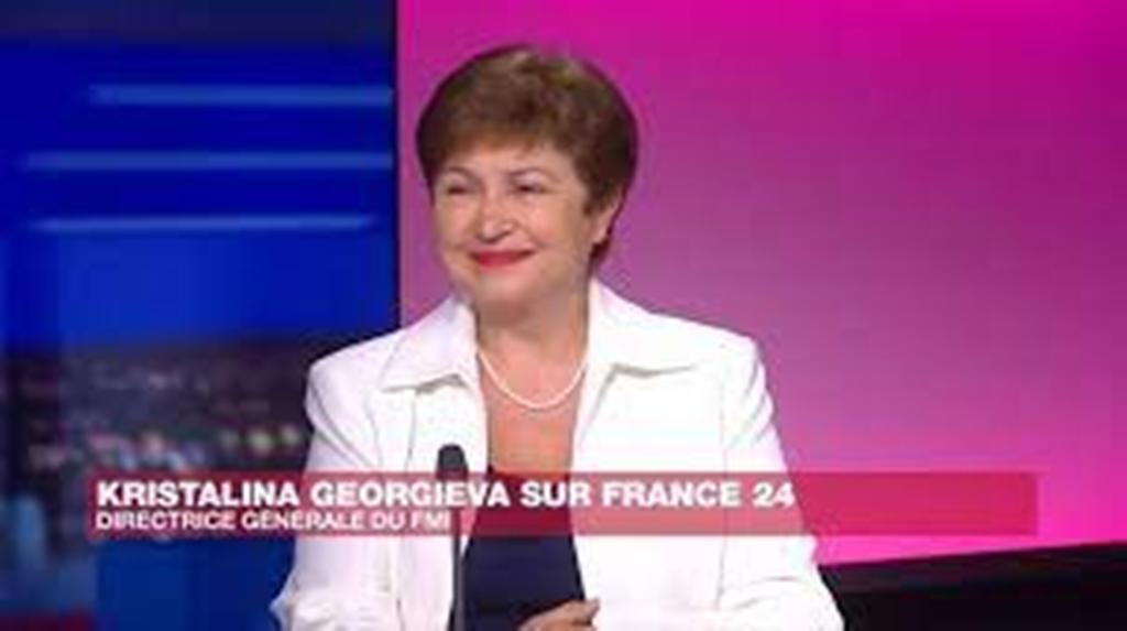 """Kristalina Georgieva, directrice du FMI : """"Nous devons soutenir l'Afrique"""""""