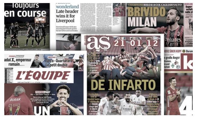 La presse catalane fracasse le Barça, l'Angleterre complétement folle d'Alisson Becker