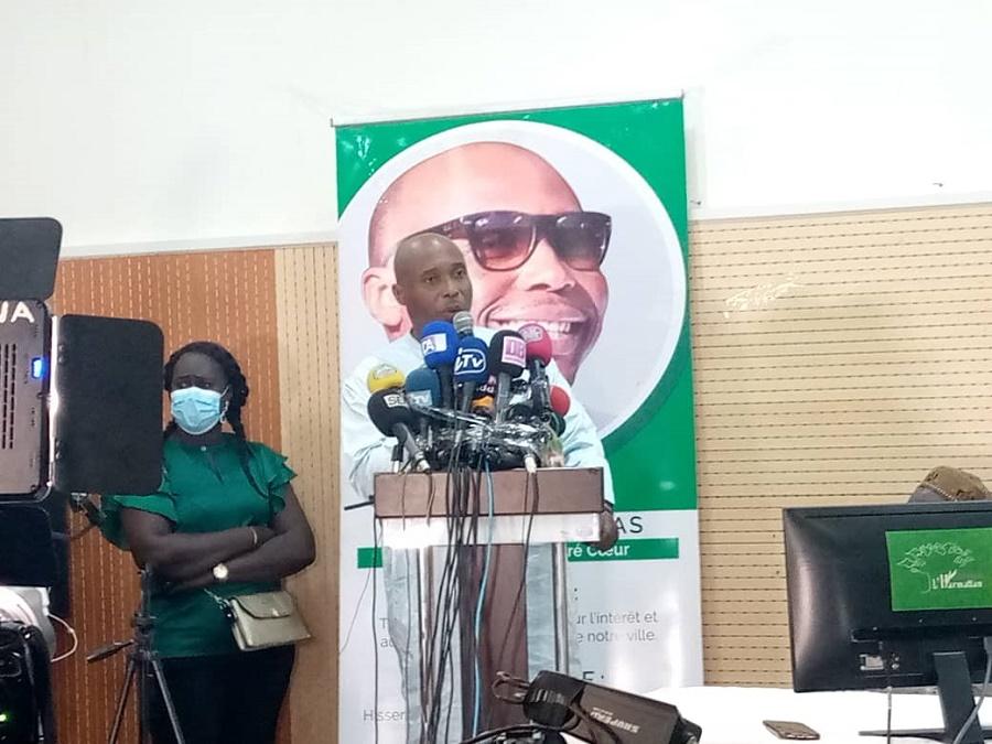 """Barthélémy Dias : """"Personne ne m'empêchera d'être candidat à la mairie de Dakar"""""""
