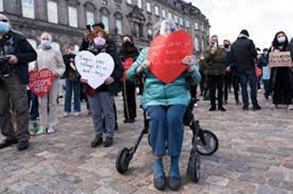 Danemark: des milliers de personnes manifestent pour soutenir les Syriens menacés d'expulsion