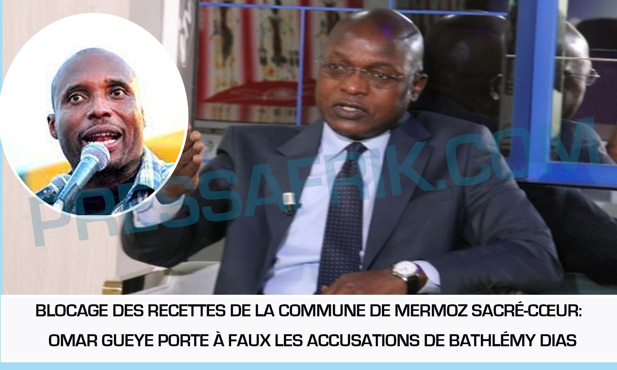 Blocage des recettes de la commune de Mermoz Sacré-Cœur:  Omar Gueye balaie les accusations de Bathlémy Dias