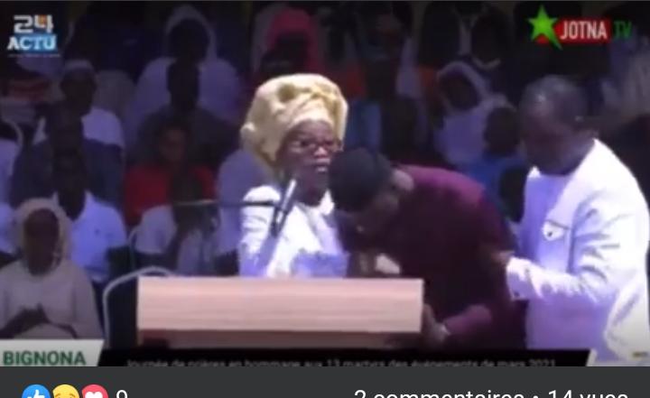 URGENT - Ousmane Sonko s'évanouit à Bignona (Vidéo)