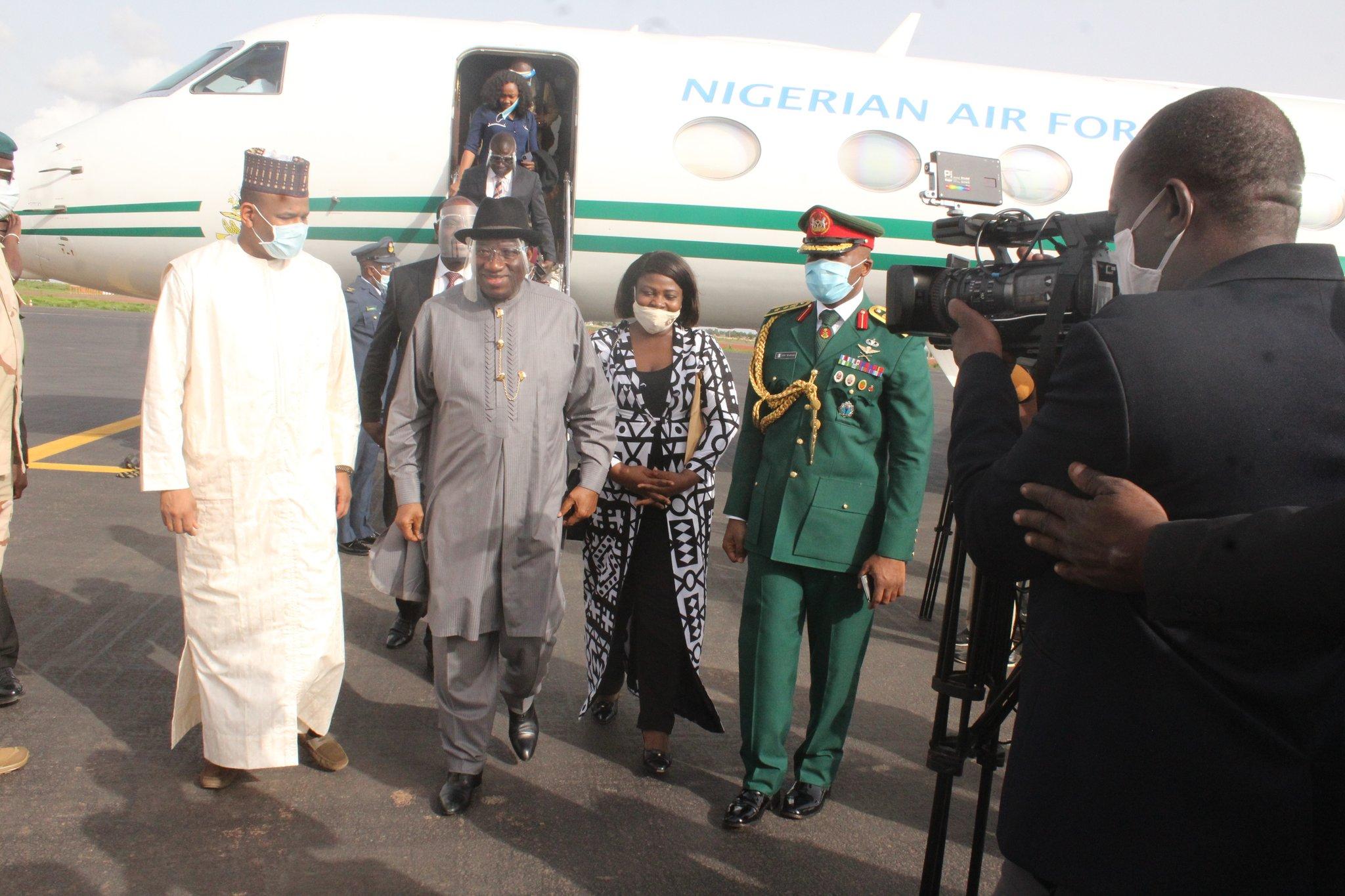 URGENT - L'émissaire de la CEDEAO Goodluck Jonhattan éconduit par le Colonel Assimi Goita