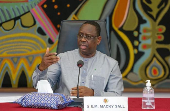Macky Sall demande la mise en place du dispositif national de prévention et de lutte contre les inondations