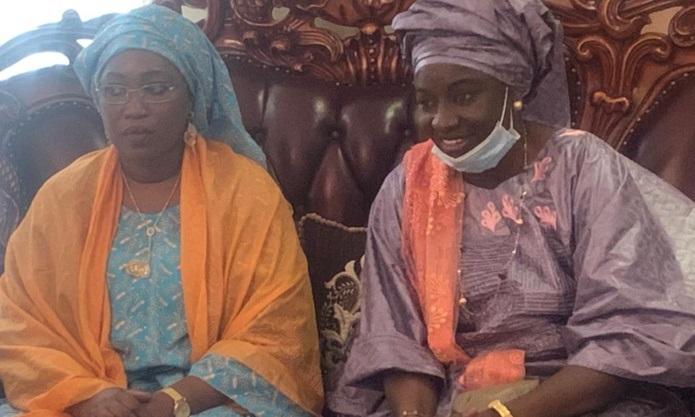 Aminata Touré reçue par divers chefs religieux à Touba