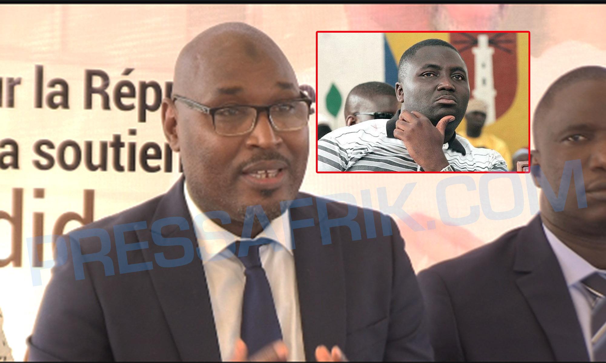 Adama Fall, responsable APR Médina répond et charge Bamba Fall