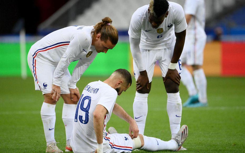 Équipe de France: Deux à trois jours d'arrêt pour Benzema