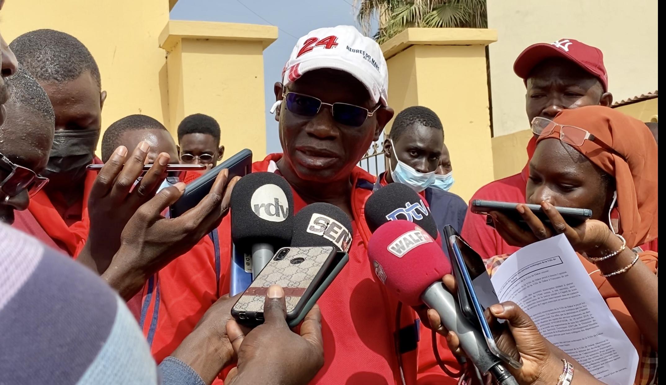 Ville de Dakar : Les agents des services techniques dénoncent leurs difficiles conditions de travail
