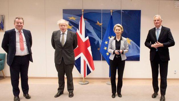 Ursula von der Leyen et Charles Michel avertissent Londres que «les deux côtés» devaient appliquer l'accord de Brexit