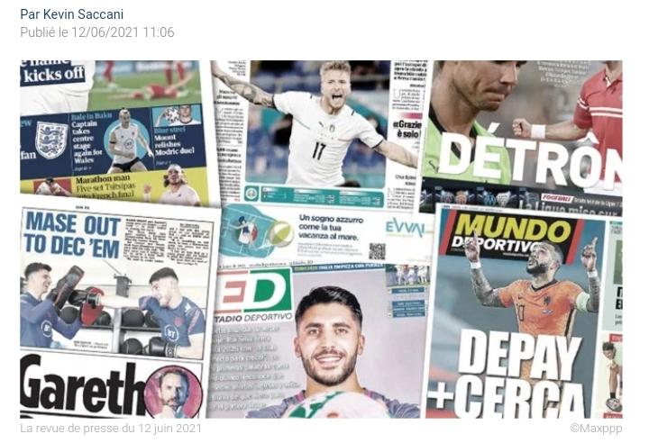 L'Italie impressionne déjà l'Europe du football, la folle rumeur d'un retour de Sergio Ramos à Séville
