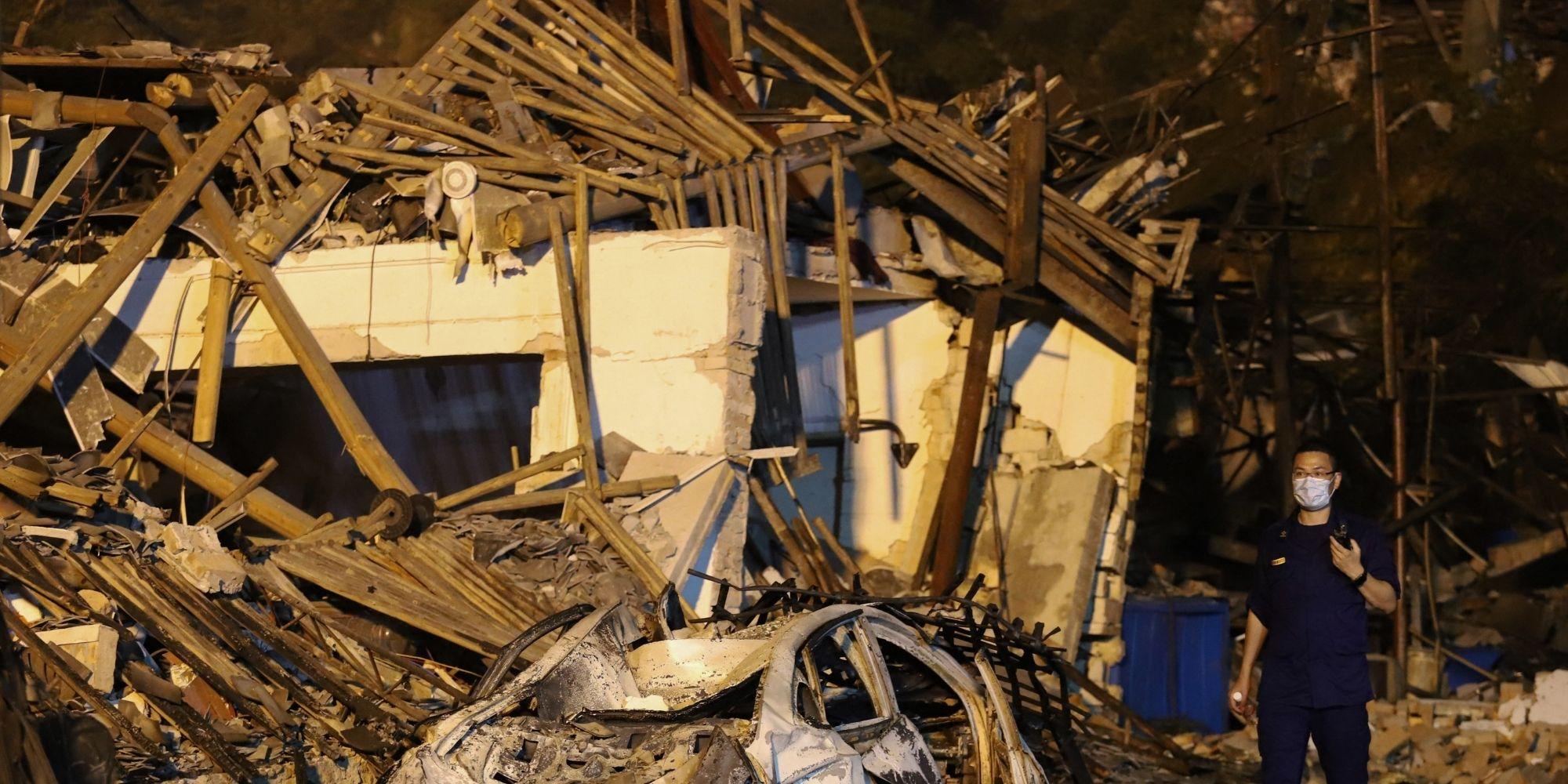 Au moins 12 morts dans l'explosion d'une conduite de gaz en Chine