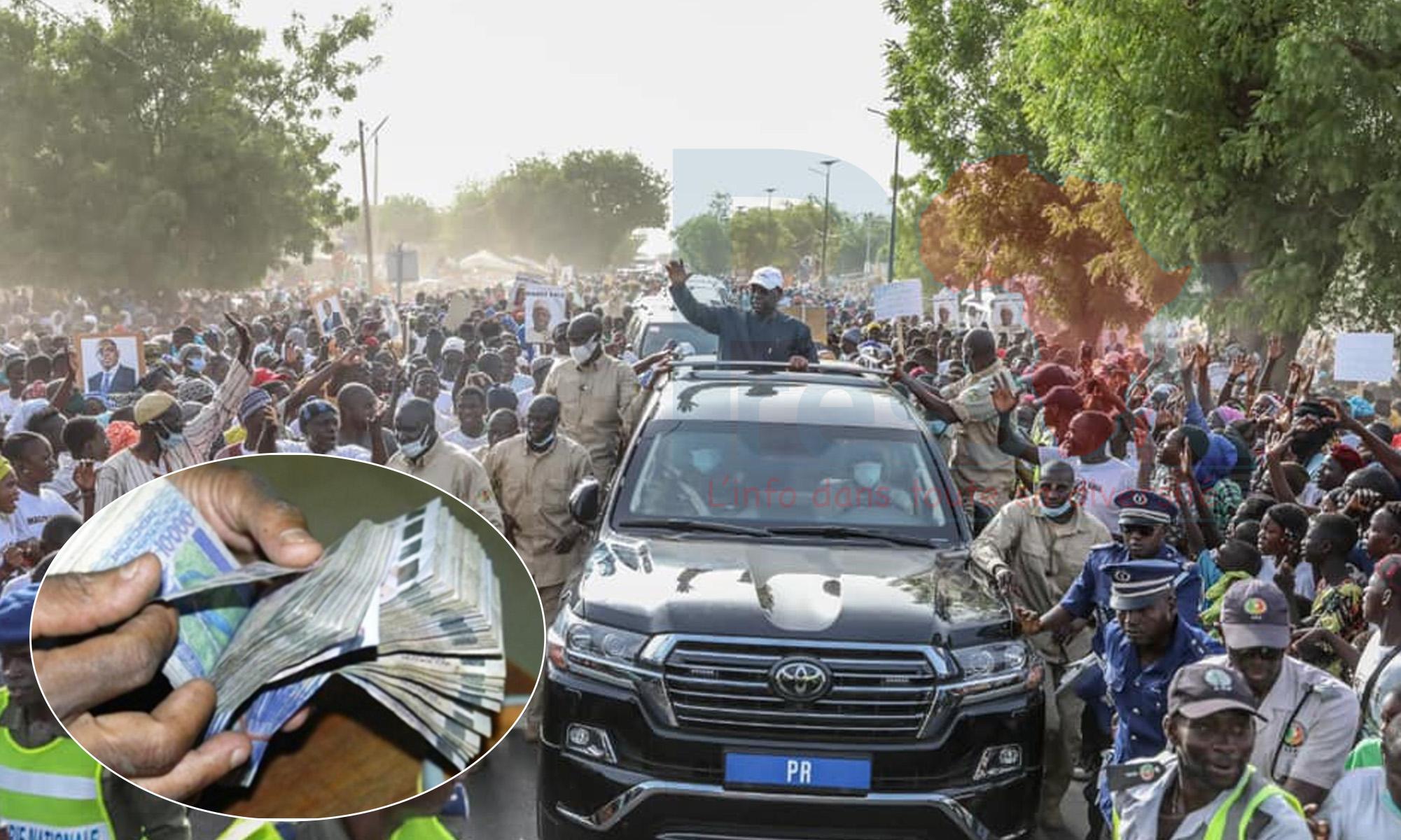 Tournée économique de Macky : des jeunes « loués » à Dakar pour aller grossir les rangs des responsables au Fouta