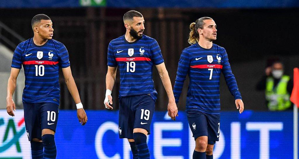 La Compo officielle des Bleus contre l'Allemagne