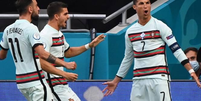 Groupe F Euro: Le Portugal a souffert longtemps avant de l'emporter (3-0)