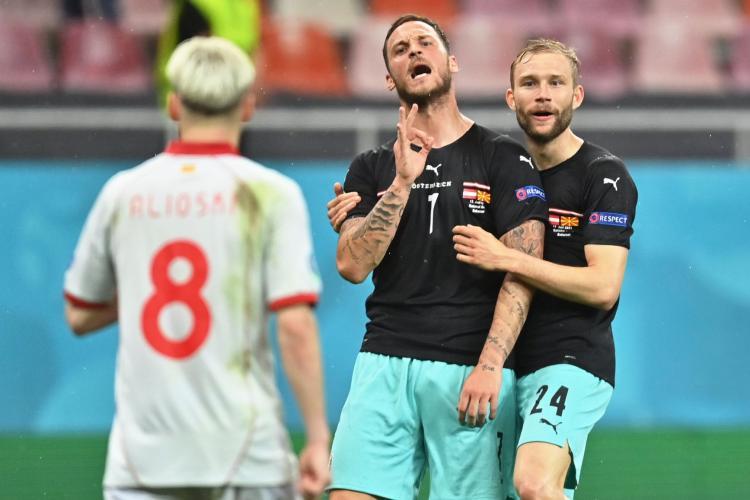 """Autriche: Arnautovic suspendu pour avoir """"insulté un autre joueur"""""""