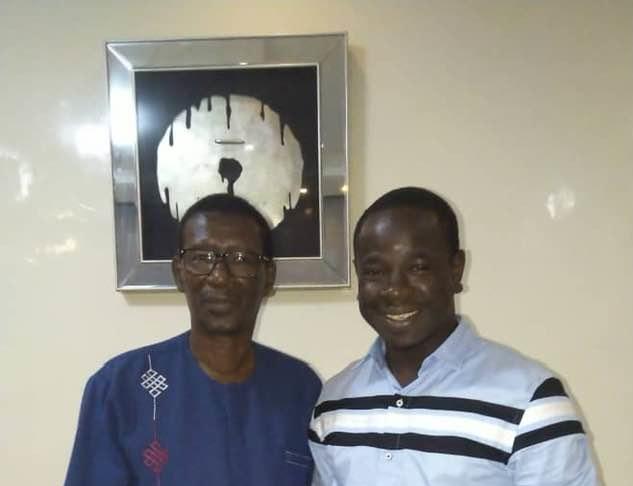 Birame Souleye Diop a rendu visite au Professeur Mary Teuw Niane