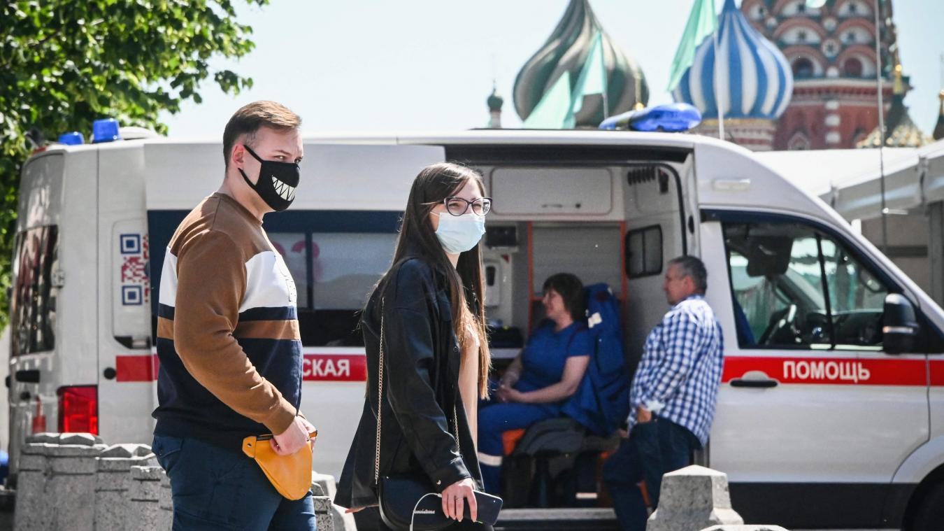 Covid-19: nouveau record de cas à Moscou, pour le second jour consécutif