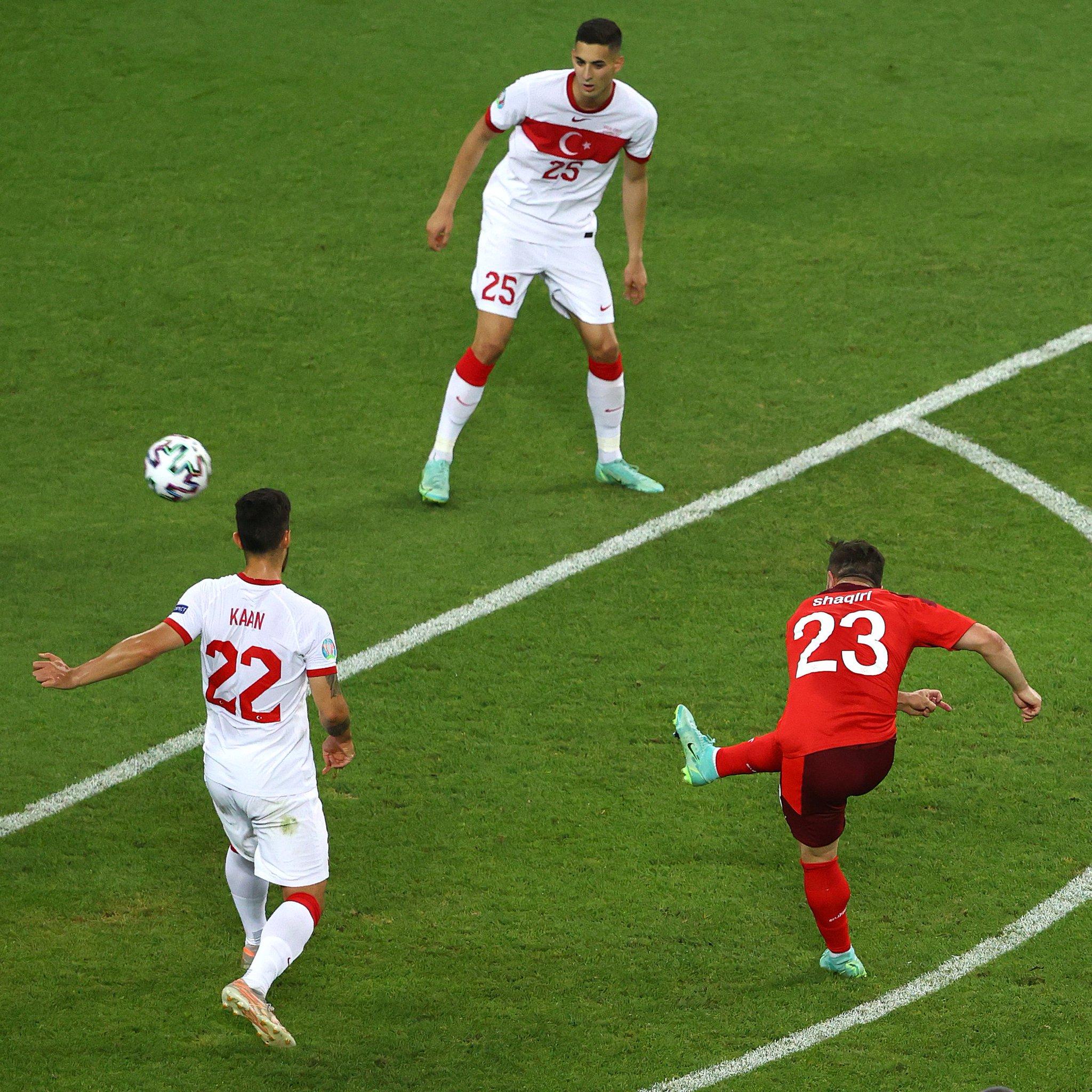 Groupe A Euro: l'Italie fait carton plein, la Suisse espère un ticket de meilleur 3e
