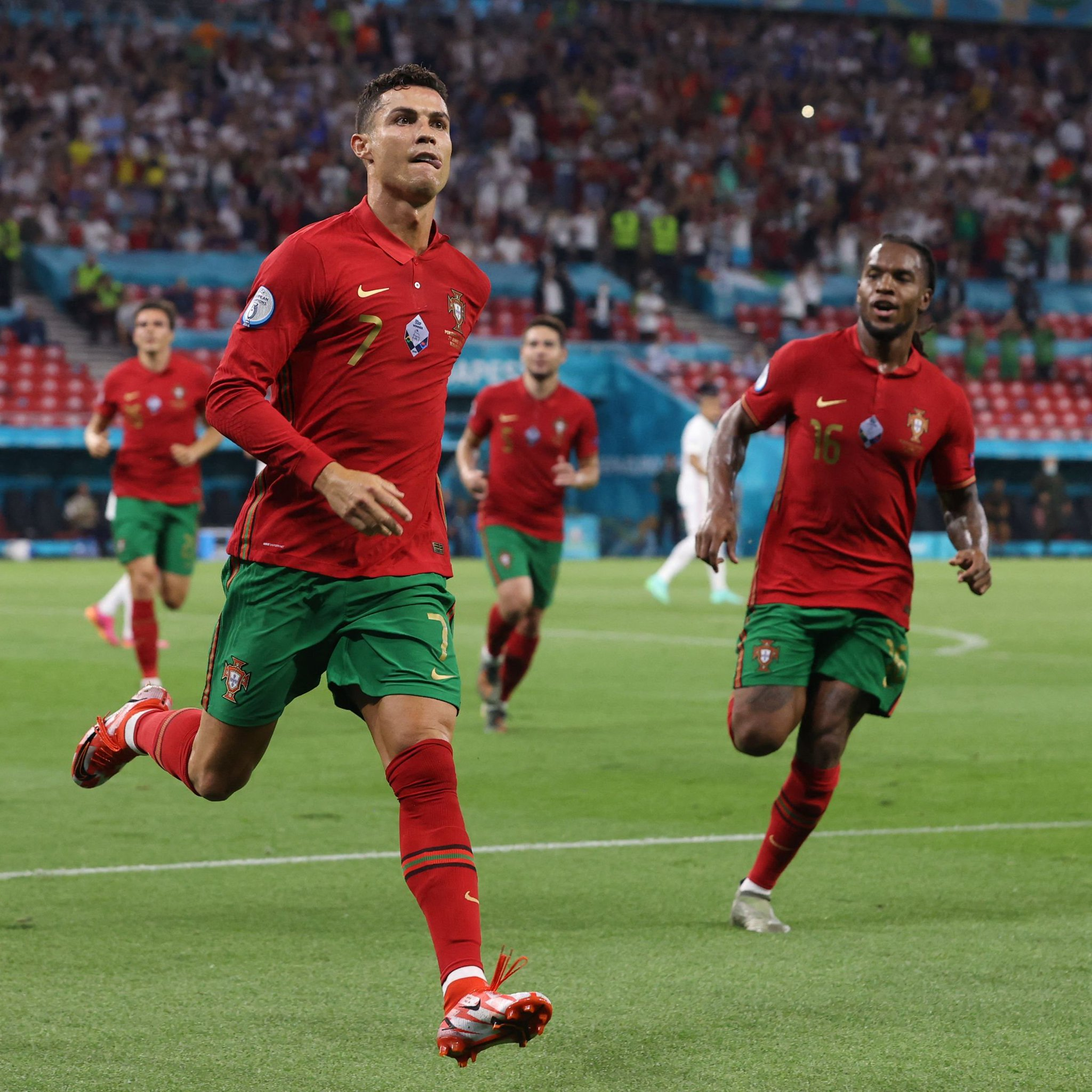Cristiano Ronaldo égale Ali Daei et devient co-meilleur buteur en sélection