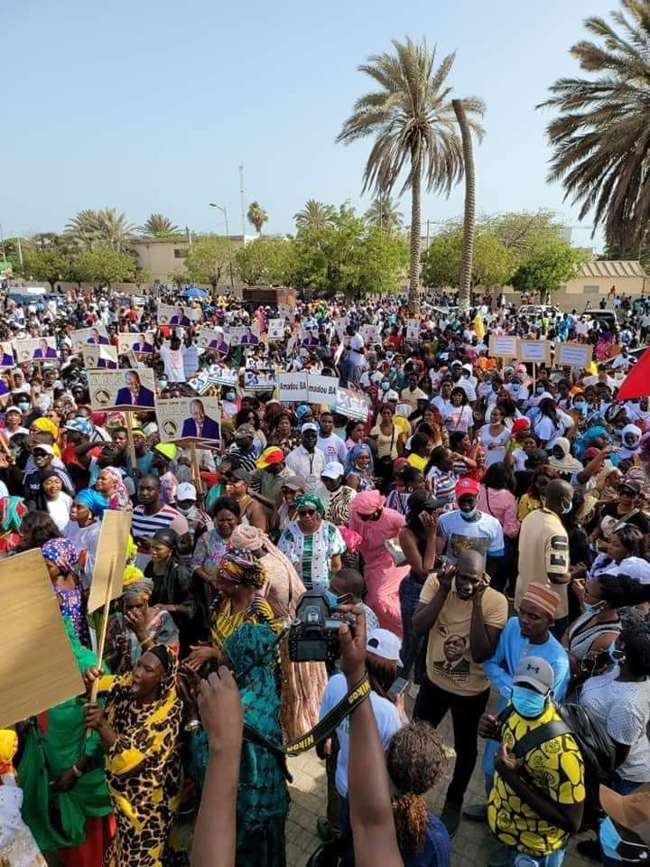 La mouvance présidentielle a célébré le 10e anniversaire du mouvement 23 juin