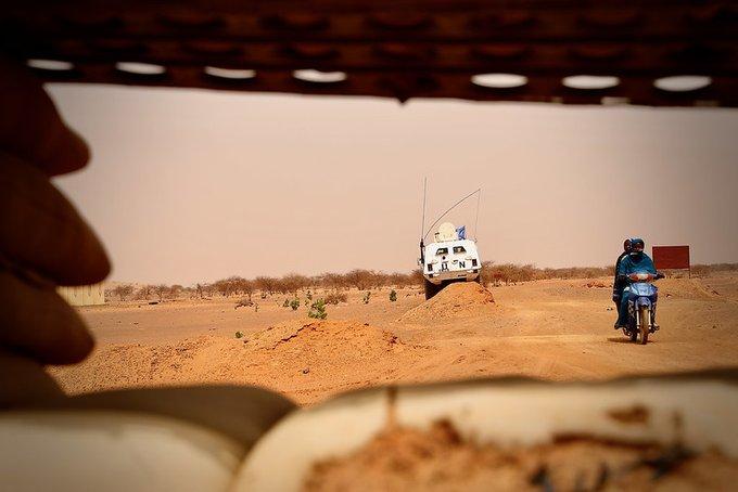 Mali: 15 Casques bleus blessés dans une attaque au véhicule piégé