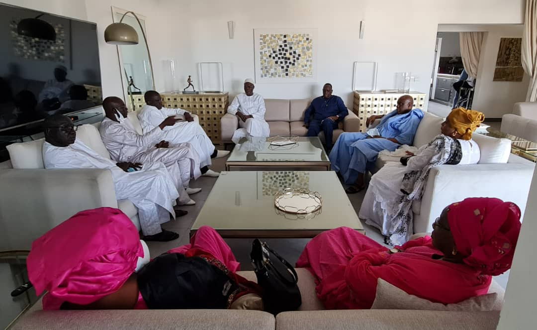 Le Président Macky Sall chez Khalifa Sall