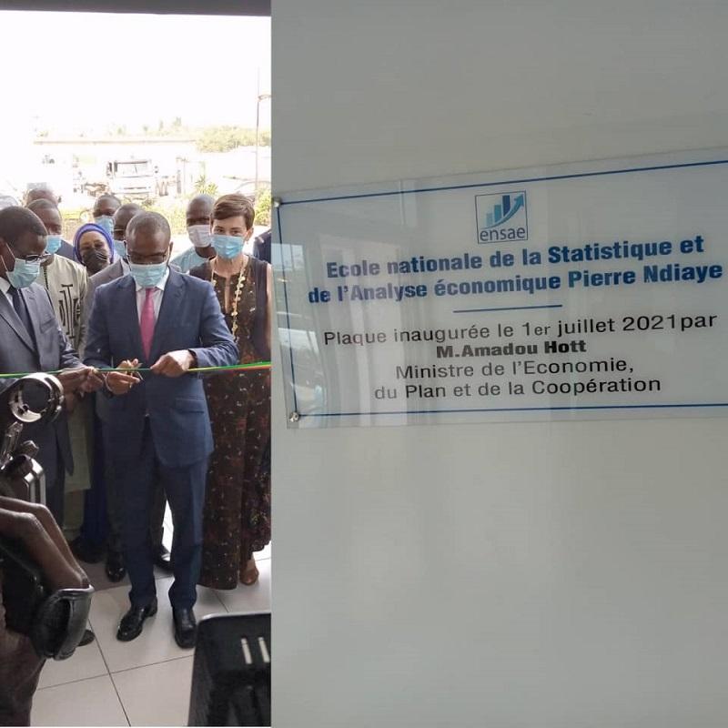 L'ENSAE porte officiellement le nom de Pierre Ndiaye