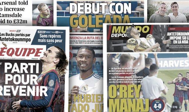Le roi Manaj impressionne au Barça, le gros chèque d'Arsenal pour trouver son gardien