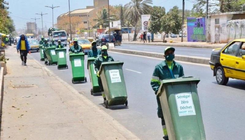 Tabaski: l'UCG déploie 3600 agents à Dakar et dans les autres régions pour se débarrasser des ordures